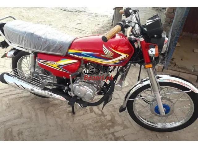 Honda 125 lush condition