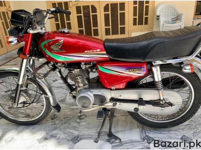 Honda CG 125 Model 2013