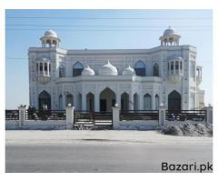 Taj Mahal Marriage Hall Sahiwal
