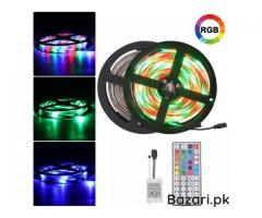 RGB LED Strip Light 3528  44 Key RGB Remote Controller Flexible LED Tape Neon Ribbon