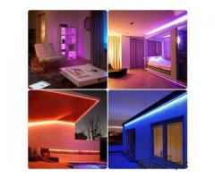 RGB LED Strip Light 3528  44 Key RGB Remote Controller Flexible LED Tape Neon Ribbon