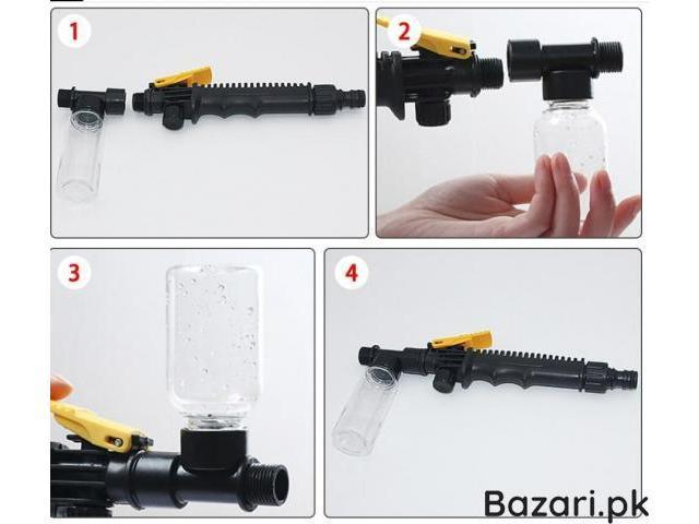 New Car Washing Foam Water Gun High Pressure Nozzle Spray For Cleaner Watering Lawn Garden - 3