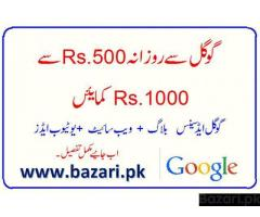 EARN MONEY WITH GOOGLE ADS IN PAKISTAN