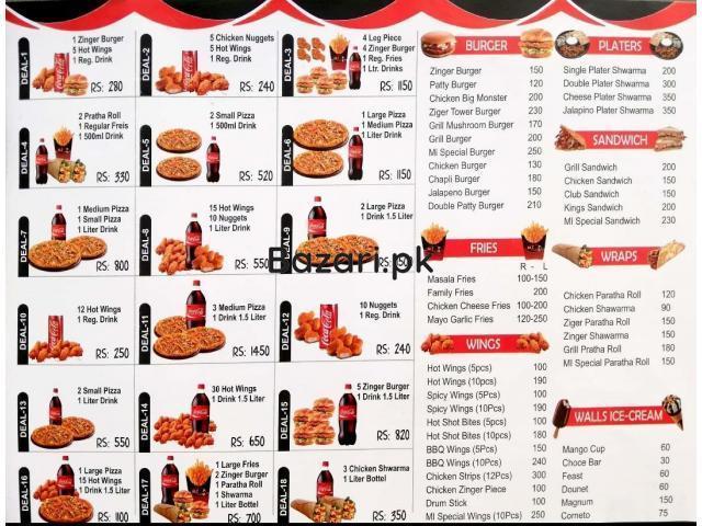 MI cafe Piza and Fried Chick's - 2