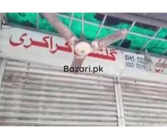 شیخوپور  10 فٹ کی دکان کاماہانہ کرایہ سوا ارب روپے