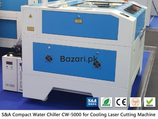 Small water chiller CW5000 for CO2 laser engraver cutter - 1