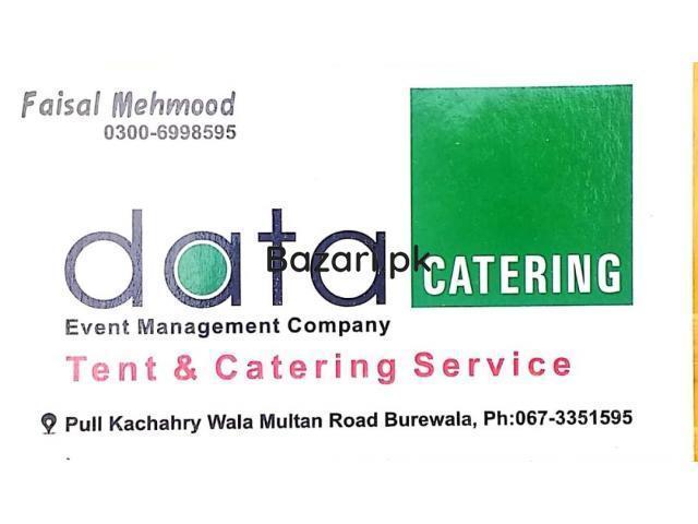 Data Event Management Company Burewala Tent and Catering service Burewala - 1