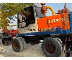 Excavator Hitachi 150 good condition crane  in burewala - Image 2