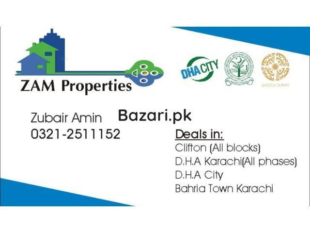 ZAM PROPERTIES Clifton ( All Blocks) D.H.A ( All Phases) Bahria Town Karachi DHA City - 1